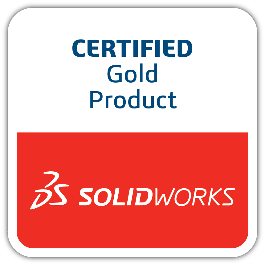 CERTIFIED Gold Product - SOLID WORKS